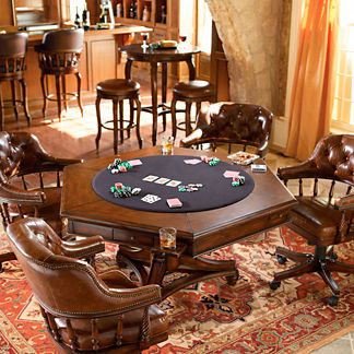 Tufted Burbank Five-piece Game Set