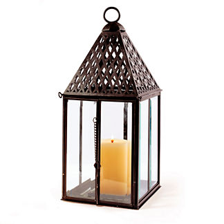 Large Trident Outdoor Lantern