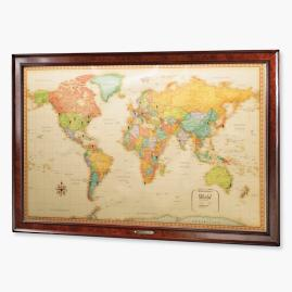World Magnetic Travel Map