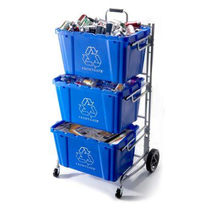 Recycling Bin Cart Frontgate