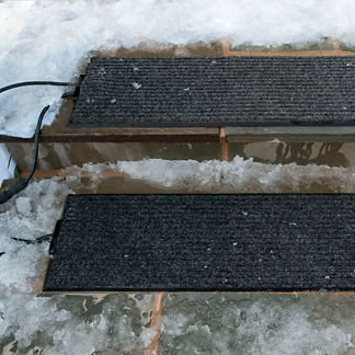 Outdoor Heated Stair Mat Starter Kit