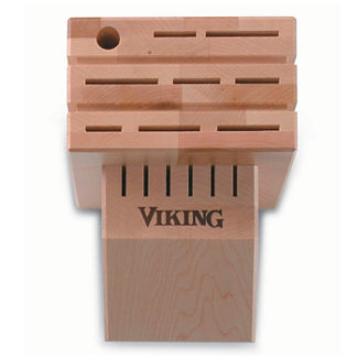 Viking Maple Knife Block
