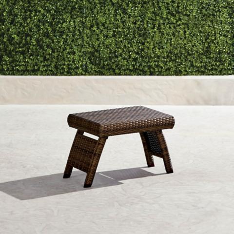 Balencia Bronze Rectangular Side Table