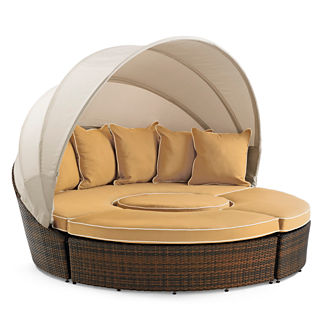2011 Five-piece Wheat Baleares Outdoor Lounger