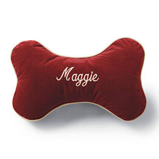 Personalized Sherpa Bone Pillow
