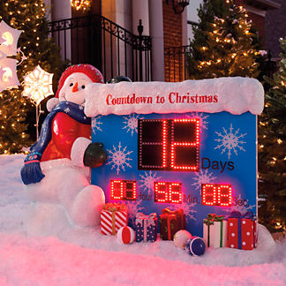 Christmas Countdown Outdoor Decoration Home Design 2017