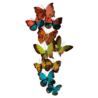 Butterfly Wall Art by Copper Art