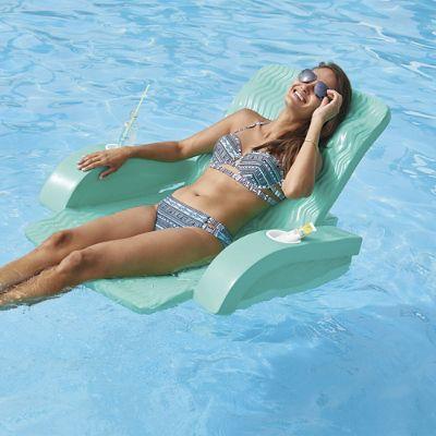 Deluxe Pool Chair With Kool Kan Koozie Frontgate