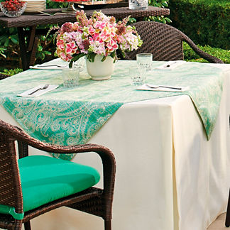 Square Outdoor Table Topper