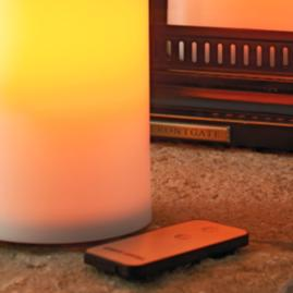 Battery-operated Flameless Outdoor Candles
