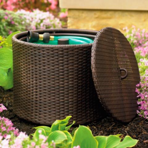 Superbe Woven Garden Hose Pot
