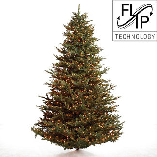 Fraser Fir Artificial Christmas Tree with FlipTree Stand