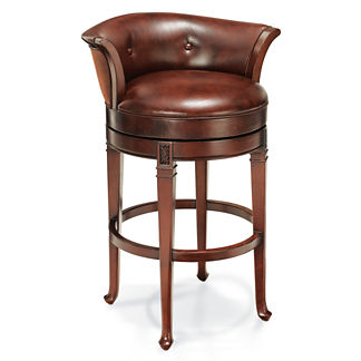 "Cantle Back Bar Height Bar Stool (30""H seat)"