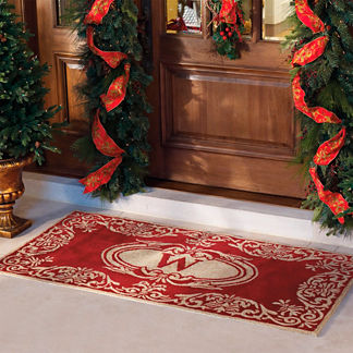 Monogrammed Indoor/Outdoor Entry Mat