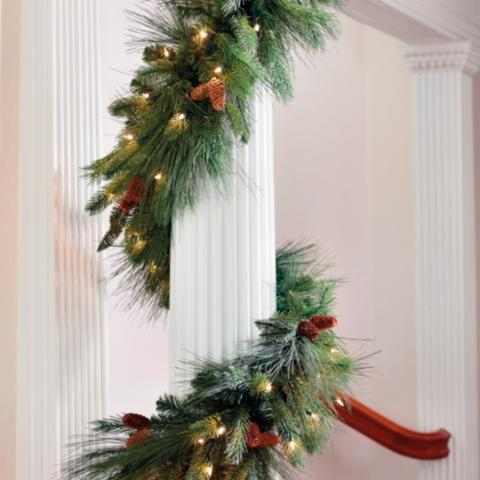Unlike traditional garland