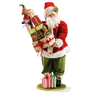 Santa Bearing Gifts Figure