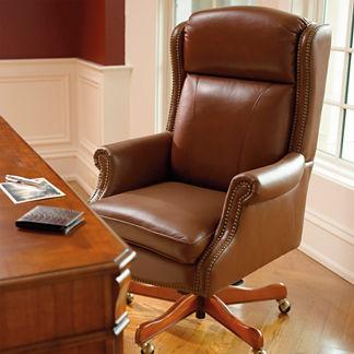 Hadley Executive Leather Office Chair