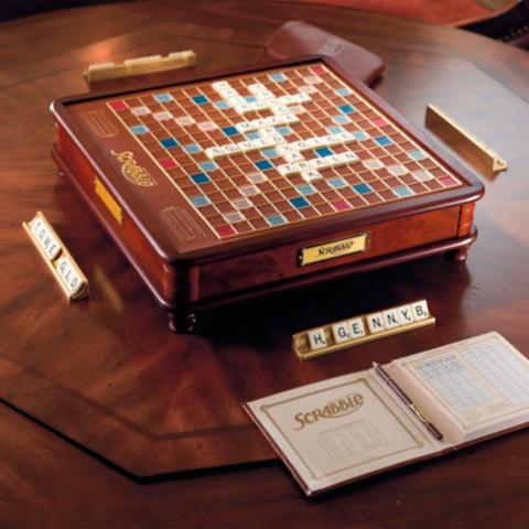 Scrabble Frontgate Luxury Edition Board Game