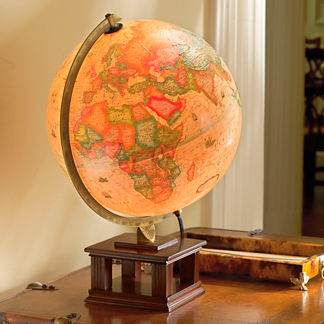 Frank Lloyd Wright Illuminated Desk Globe