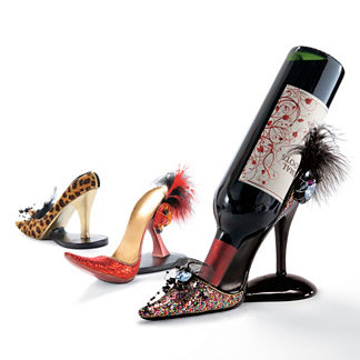 Mark Roberts Shoe Wine Holder