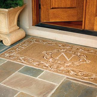 St. Clair Monogrammed Door Mat