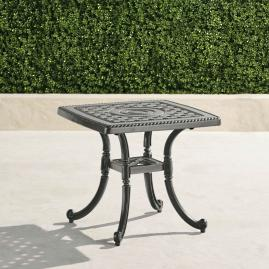 Carlisle Cast-top Coffee Table in Slate Finish