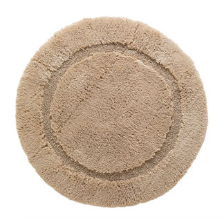 Nonskid Round Resort Bath Rug