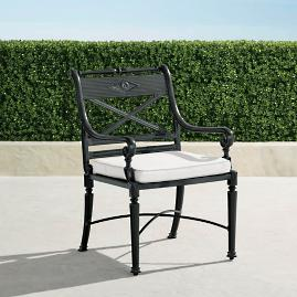 Carlisle Dining Arm Chairs in Onyx Finish, Set