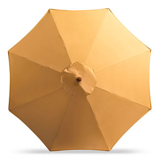 11' Round Outdoor Market Umbrella - Last Year's Colors