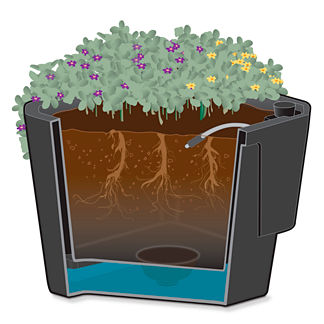 "17"" Self Watering Planter Liner"