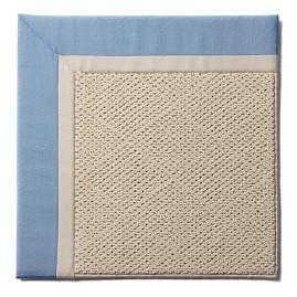Indoor/Outdoor Parkdale Rug in Air Blue White Wicker