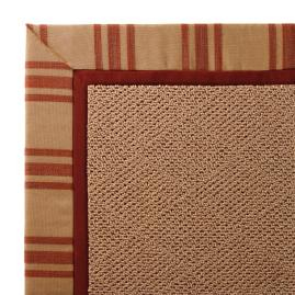 Outdoor Parkdale Rug in Sunbrella® Hampton Brick Cane