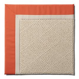 Indoor/Outdoor Parkdale Rug in Melon White Wicker