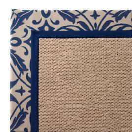 Outdoor Parkdale Rug in Sunbrella® Softly Elegant Cobalt