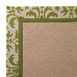 Indoor/Outdoor Parkdale Rug in Sunbrella® Softly Elegant Gingko