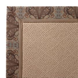 Indoor/Outdoor Parkdale Rug in Symphony Mineral White Wicker