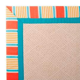 Outdoor Parkdale Rug in Sunbrella® Fortuna Bay Melon