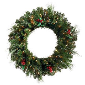 Cordless Wreath