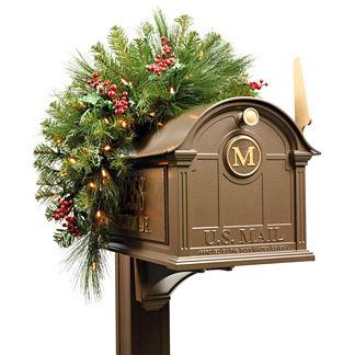 Cordless Mailbox Swag