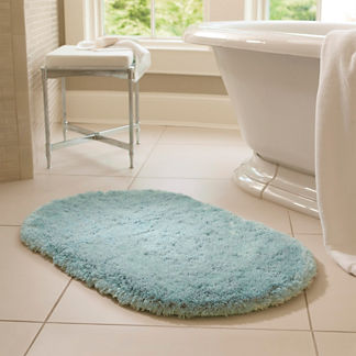 Belize Memory Foam Oval Rug