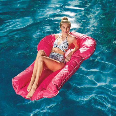 Beau Aqua Lounger Pool Float