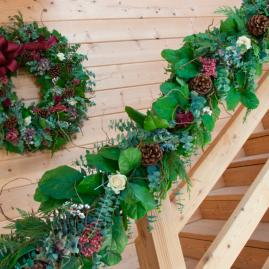 Christmas Bouquet Fresh Christmas Garland
