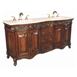 Lorient Double Sink Console