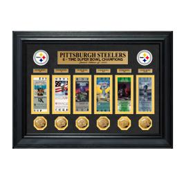 Pittsburgh Steelers Super Bowl Champion Ticket and Coin