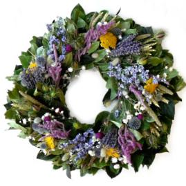 Love in the Mist Spring Indoor/Outdoor Wreath
