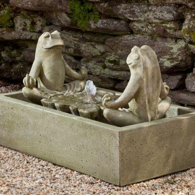 Zen Frog Fountain Frontgate