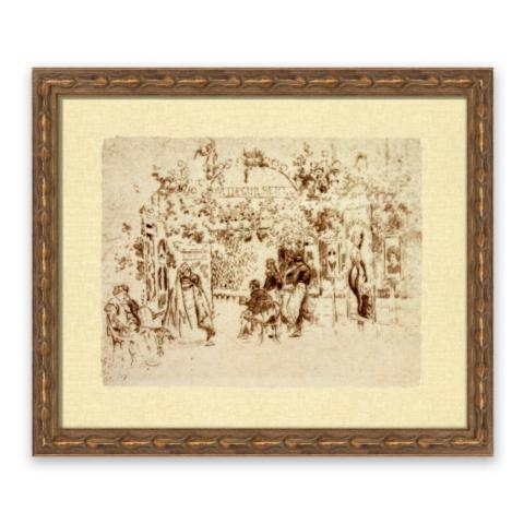 A Night in the Theater in Paris Wall Art | Frontgate