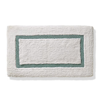 Resort Memory Foam Framed Bath Rug