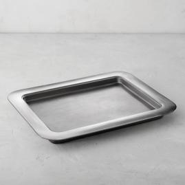 Hot/Cold Rectangular Stainless Steel Tray