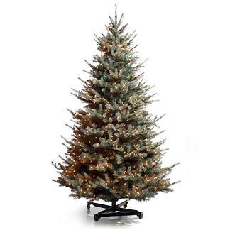 Colorado Blue Spruce Christmas Tree with FlipTree Stand & Storage Bag